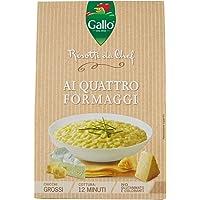 Gallo Risotti da Chef Chicchi Grossi, Quattro Formaggi - 175 gr