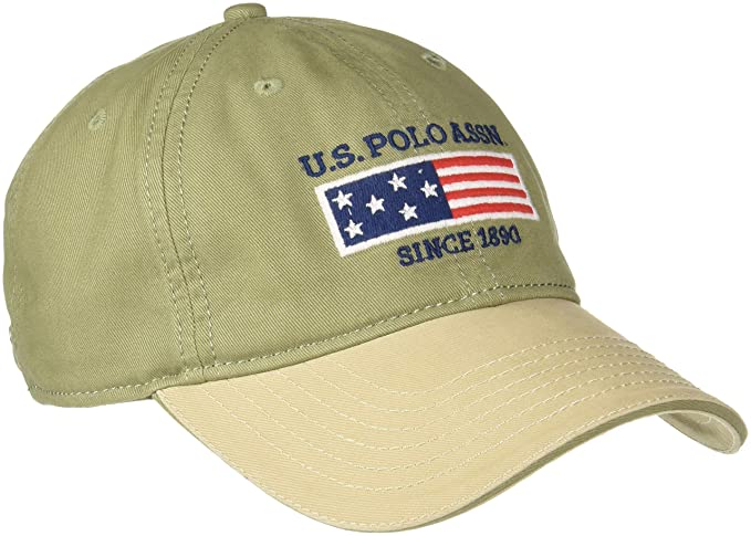 U.S.Polo.Assn. Men s Baseball Cap (USAC0387 Olive One Size)  Amazon.in   Clothing   Accessories 86db64fb25ad