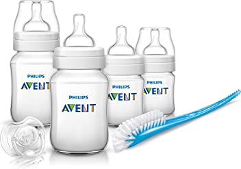 Philips Avent SCD371/00 Kit Nouveau-né Classic + Transparent