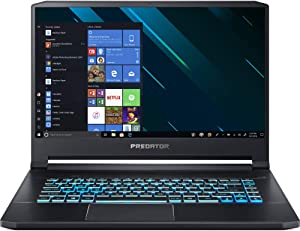 "Acer Predator Triton 500 15.6"" Laptop Intel Core i7-9750H 2.60GHz 32GB Ram 1TB HDD Windows 10 Home (Renewed)"