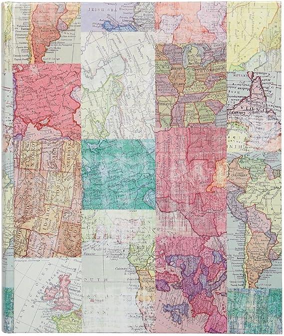Paperchase – Mapas grande autoadhesiva álbum de fotos: Amazon.es ...