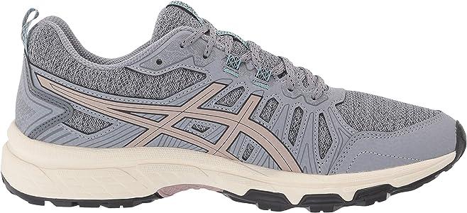 Asics Gel-Venture 7 - Zapatillas de correr para mujer, Gris (Hoja Rock/Fawn), 36.5 EU: Amazon.es: Zapatos y complementos