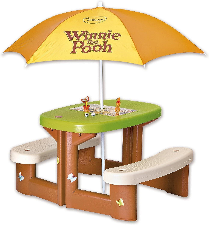 Smoby Table enfant pic nic Winnie + parasol SMOBY: Amazon