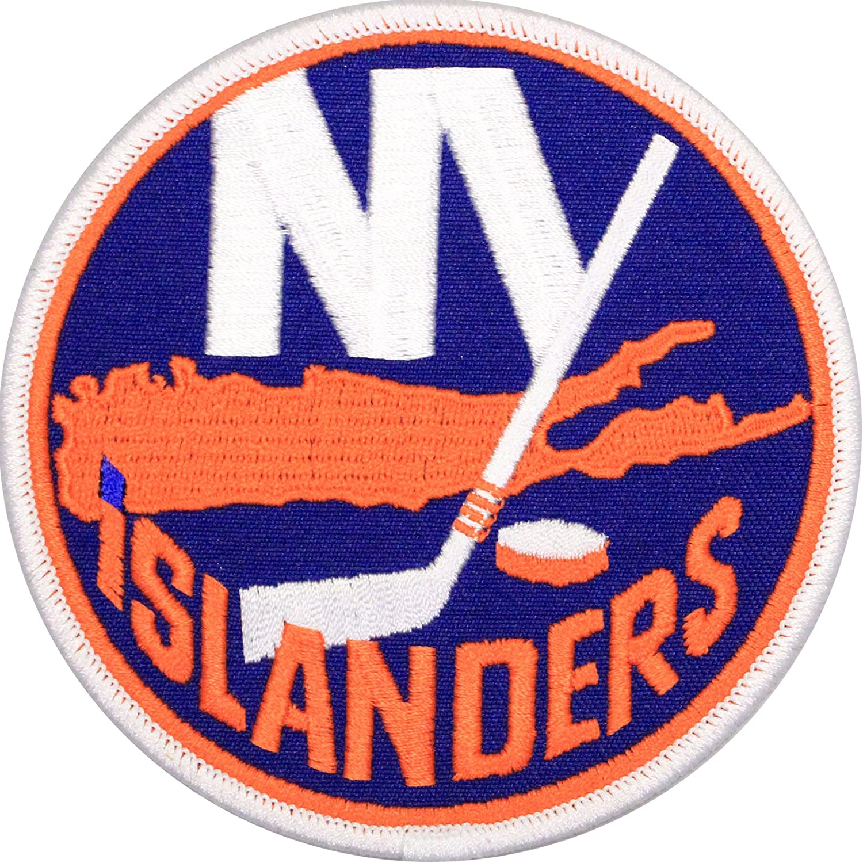 New York Islanders Primary Team Logo Patch   B00T2KOH2Q