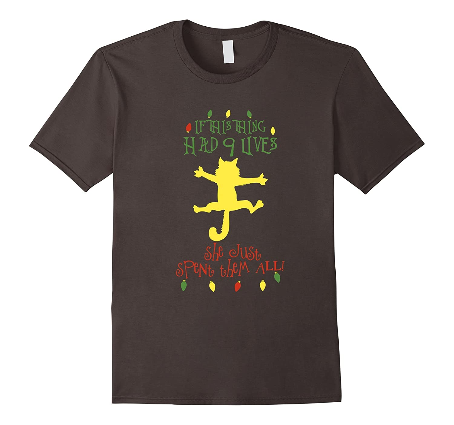 Christmas Vacation Shirt | If That Cat Had Nine Lives-ANZ - Anztshirt