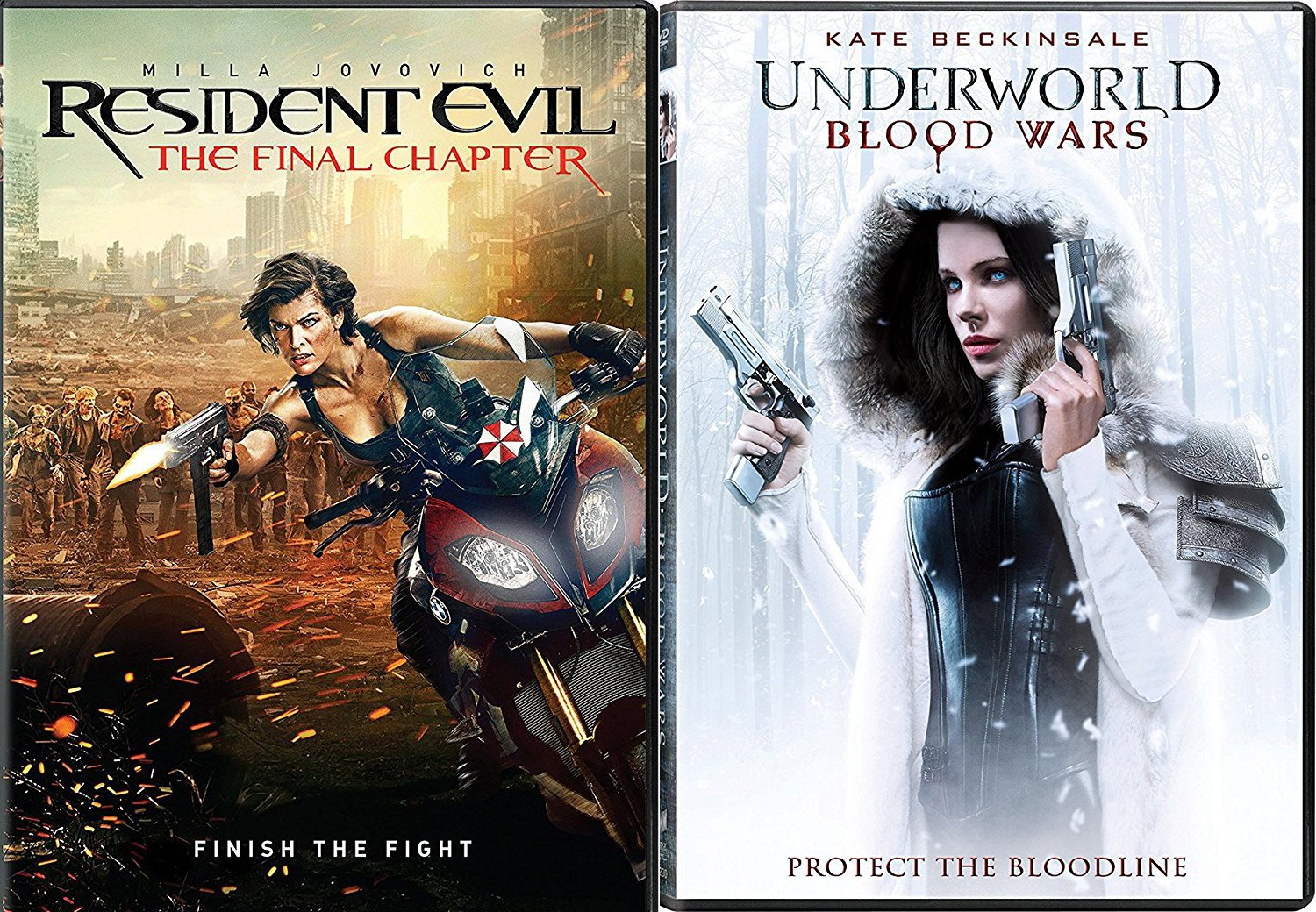 Amazon Com Finish The Fight Zombies Resident Evil Final Chapter