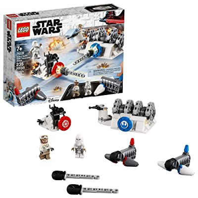 LEGO Star Wars: The Empire Strikes Back Action Battle Hoth Generator Attack 75239 Building Kit (235 Pieces): Toys & Games