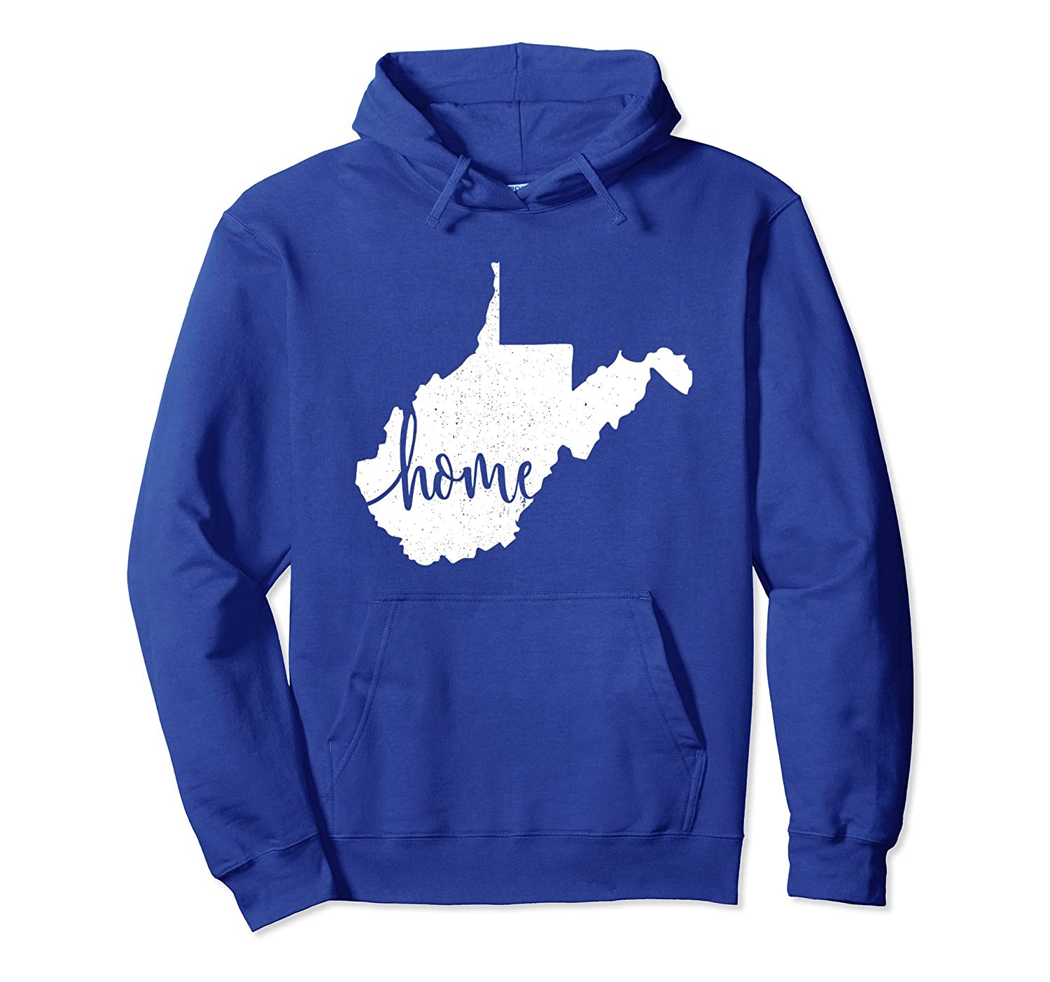 West Virginia Hoodie Sweatshirt. Home State Vintage Gift-ah my shirt one gift