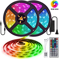 2-Pack Elfeland 32.8-Foot Waterproof LED Strip Light Kit