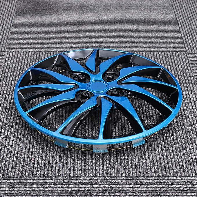 BESPORTBLE 14 Inch Hubcaps Wheel Cover Car Wheel Caps Hubcap Case for Car Hub Auto Refit Accessories Black