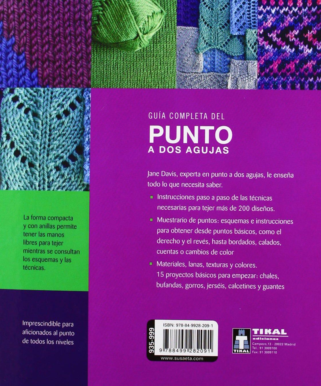 Guía completa del punto a dos agujas Manos artesanas: Amazon.es ...