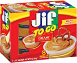 Jif To Go Creamy Peanut Butter, 1.5 oz., 8 Total