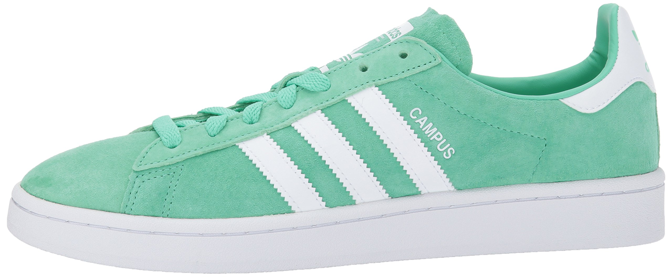 adidas Originals Men's Campus Sneakers -, Green Glow Crystal White, (11 M US) by adidas Originals (Image #5)