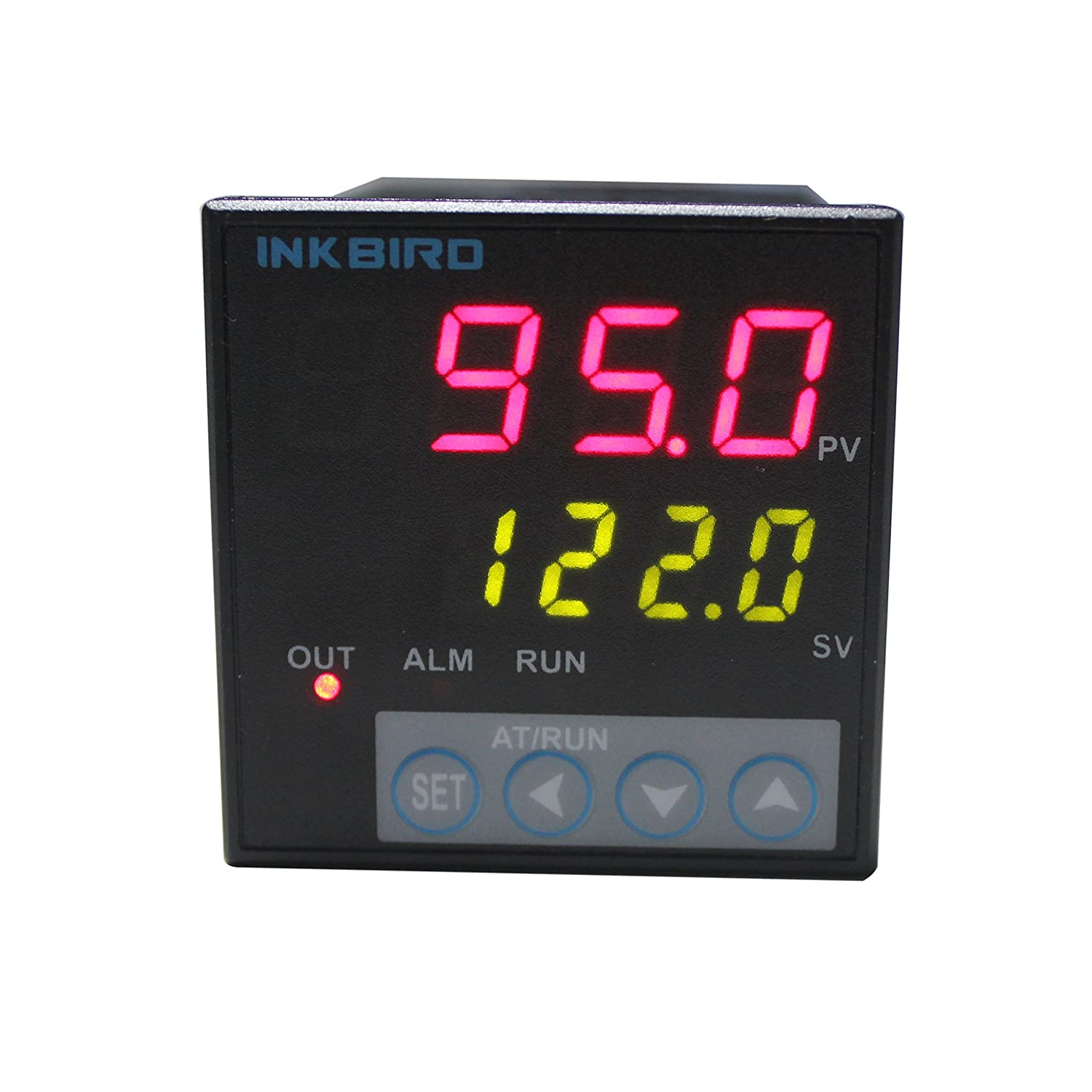Inkbird F & C Display PID Temperature Controller Thermostat ITC-106RH, Relay Output, AC 100V - 240V Inkbird Tech