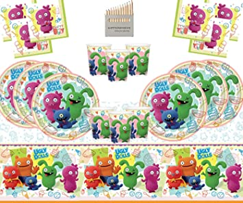Ugly Dolls Party Supplies Artículos de Fiesta de muñecas ...