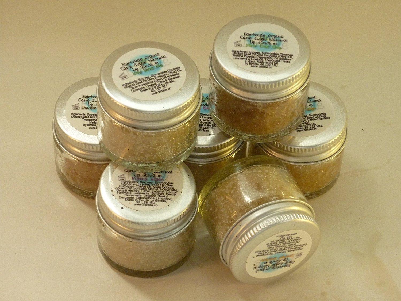 Bimble Organic Raw Cane Sugar Natural Lip Scrub 25g - Orange Sherbet Flavour HealthCentre LSOS
