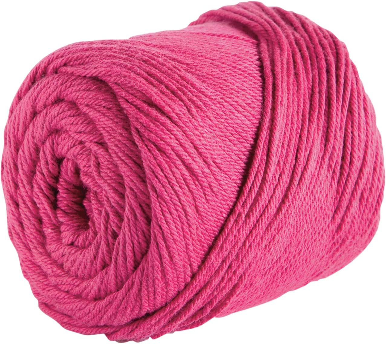 Cotton Yarn Crochet, | Iris Purple 3 Solid Colors Coral Bordeaux Red WorstedMedium Weight 2.5 oz Each Assortment for Knitting