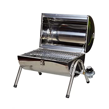 STANSPORT 1-Burner 126sq. in Small Gas Grill