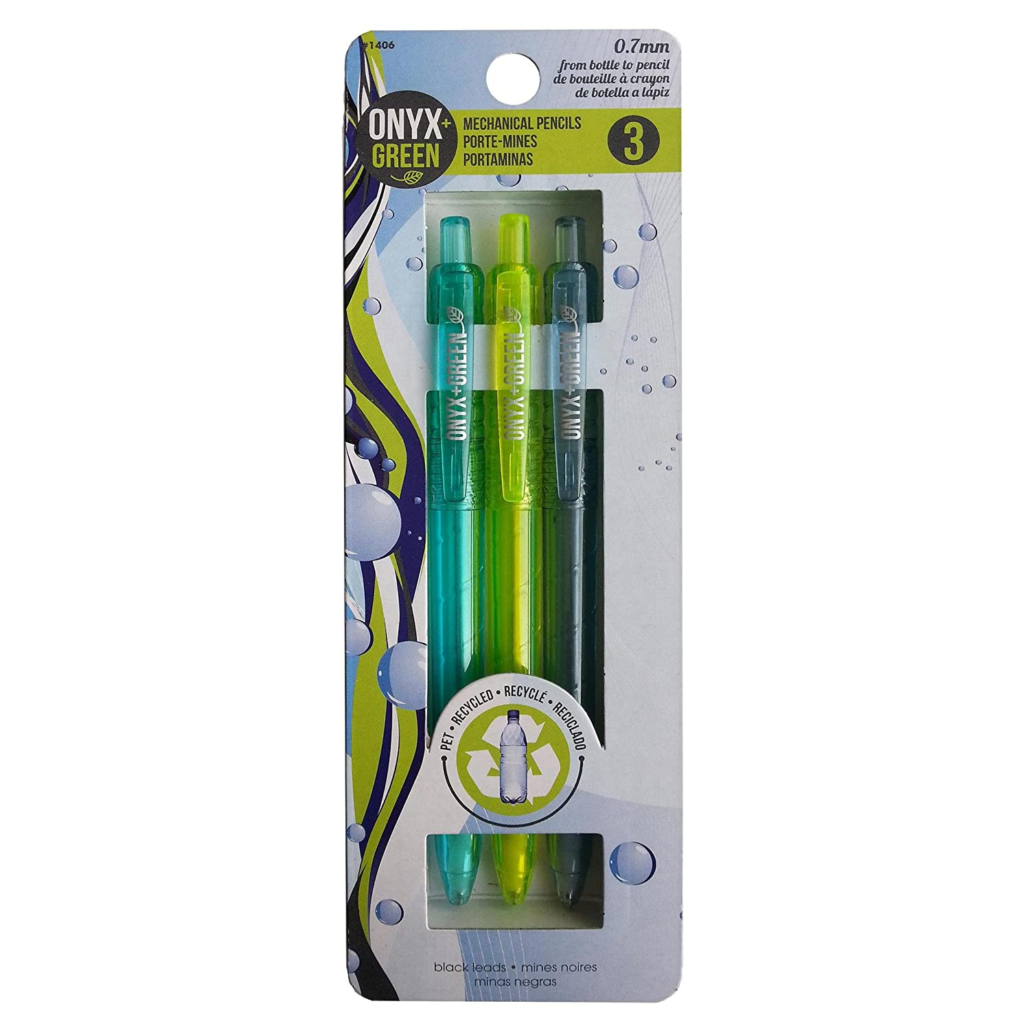 Amazon.com : Recycled Sustainable Materials Green Eco Friendly School Supplies Kit - Pen Pencils Sharpener - Made from Recycled Water Bottles : Office ...