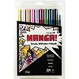 Tombow Manga Shojo Marcadores Artísticos de Doble Punta, Paquete de 10