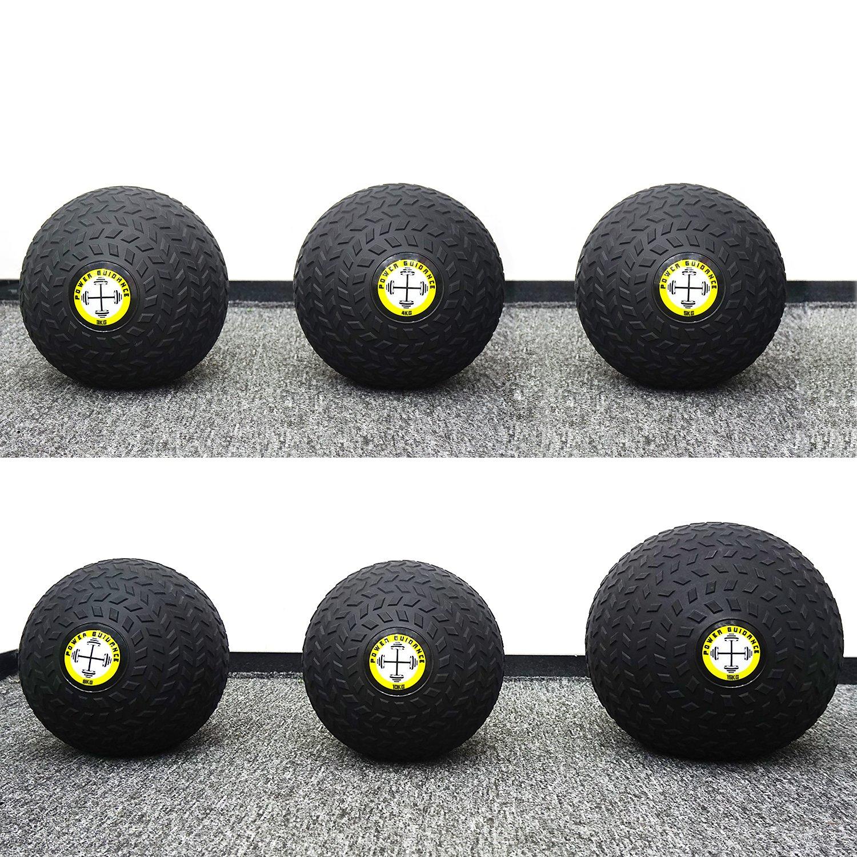 POWER GUIDANCE Slam Ball Balón Medicinal Antideslizante Ideal para los  Ejercicios de Functional Fitness - 12kg  Amazon.es  Deportes y aire libre 1a60c33eb71b0