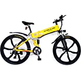 Evo-Ride du-ebike Folding 26 inch Electric Mountain Bike