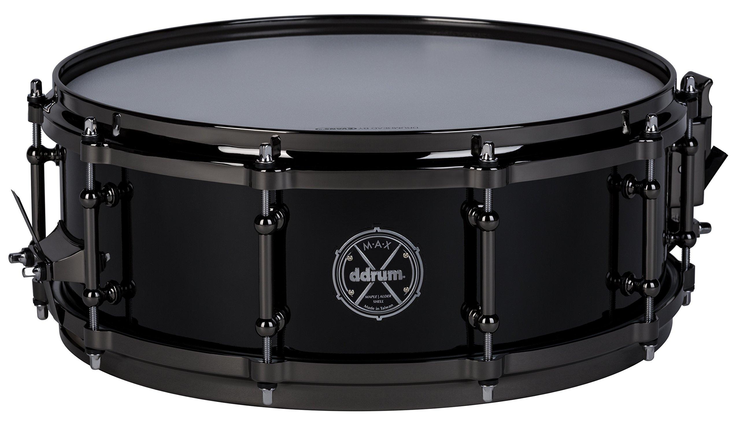 ddrum MAX Series 5x14 Snare Drum-Piano Black (MAXSD5X14PB by Ddrum