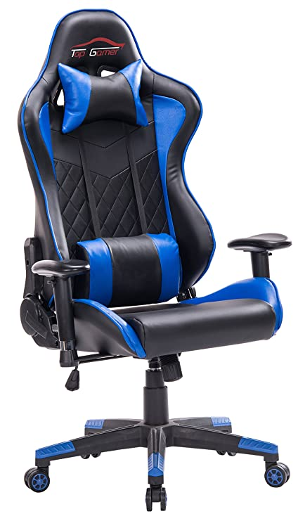 Marvelous Amazon Com Top Gamer Racing Gaming Chair Pc Computer Game Machost Co Dining Chair Design Ideas Machostcouk