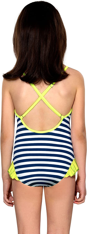 LORIN Girls Kids Swimsuit One-Piece Swimwear Beachwear Swimming Costume 3-10 Years
