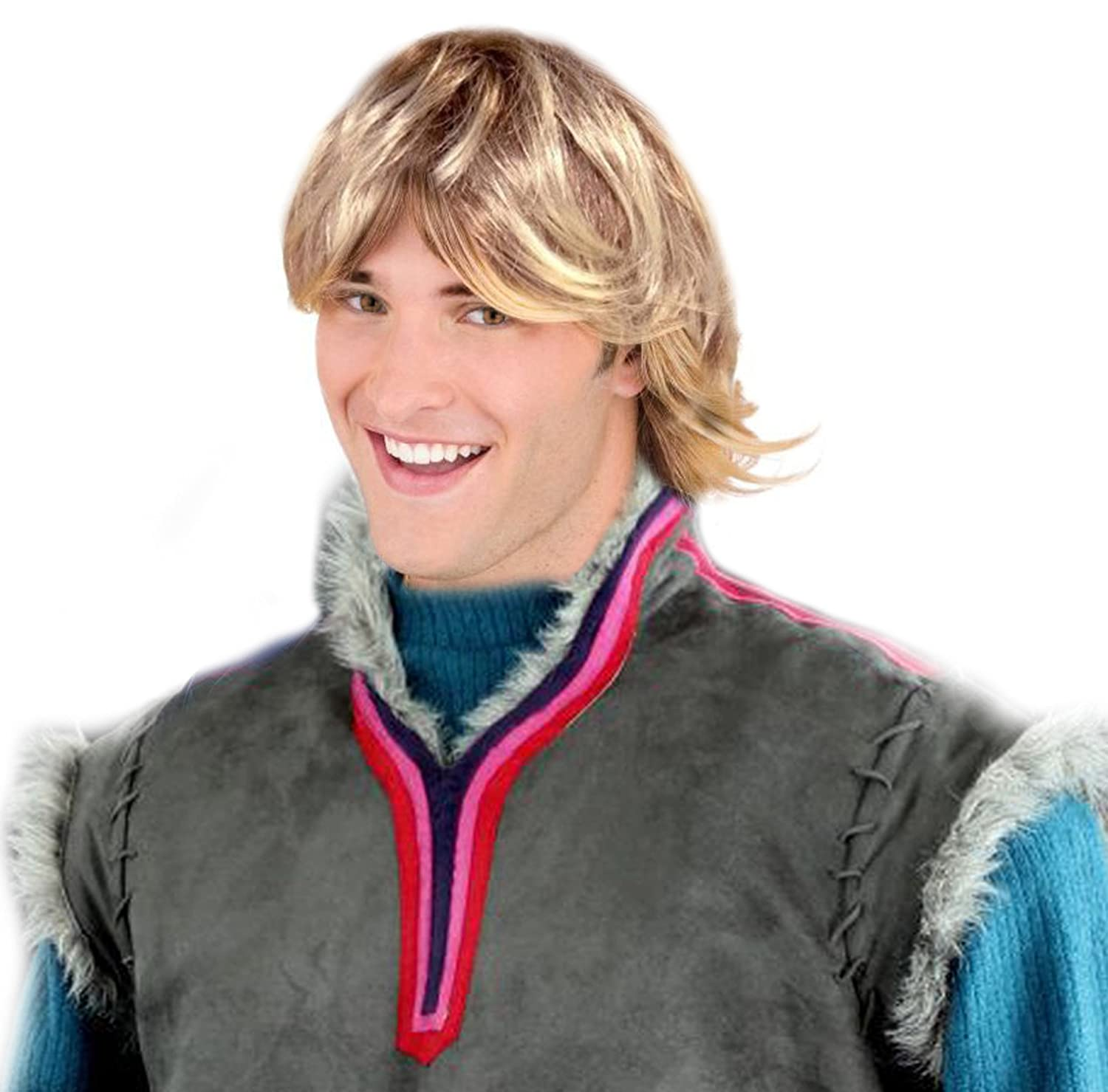 Amazon.com Clumsy Lover Boy kristoff Style Costume Wig kristoff Style Wig For Adults and Kids Clothing  sc 1 st  Amazon.com & Amazon.com: Clumsy Lover Boy kristoff Style Costume Wig kristoff ...