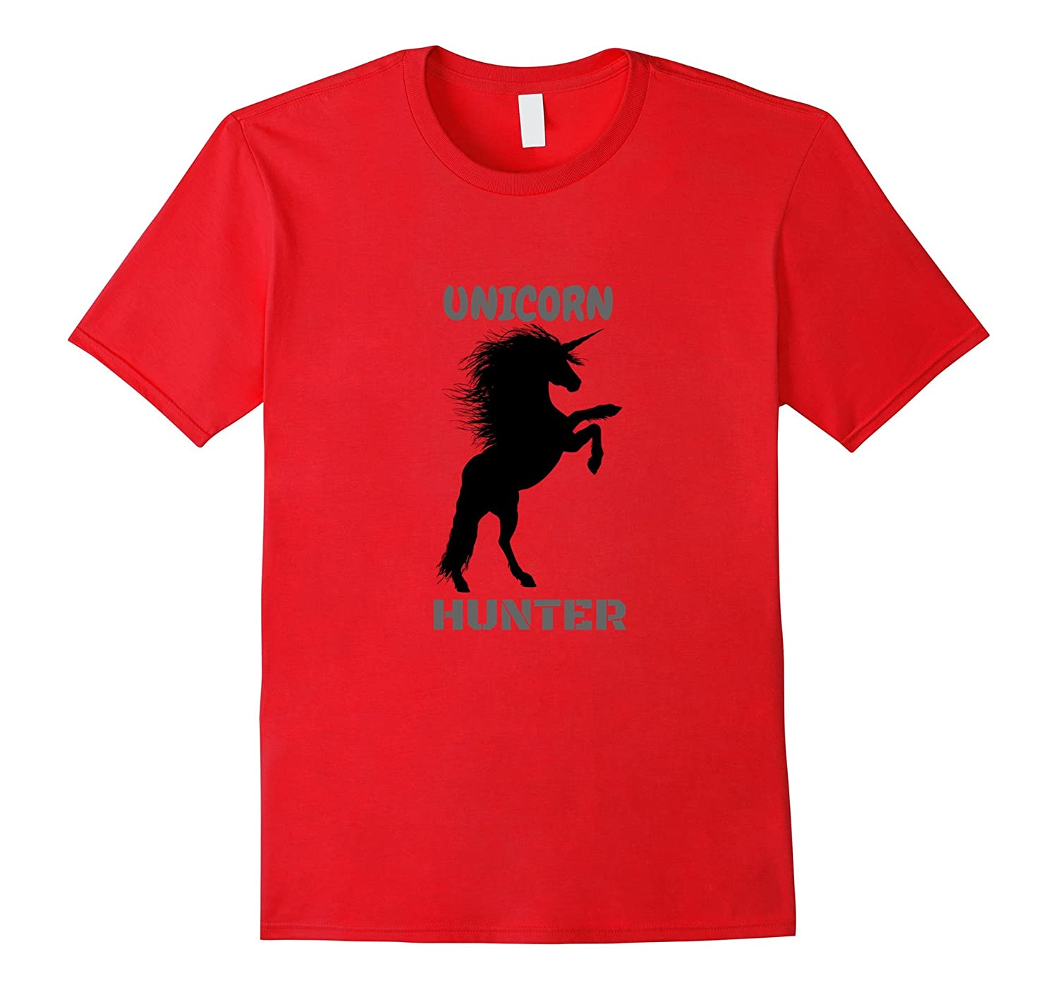 Unicorn Hunter Shirt Dadjoke Hunting T-Shirt-FL