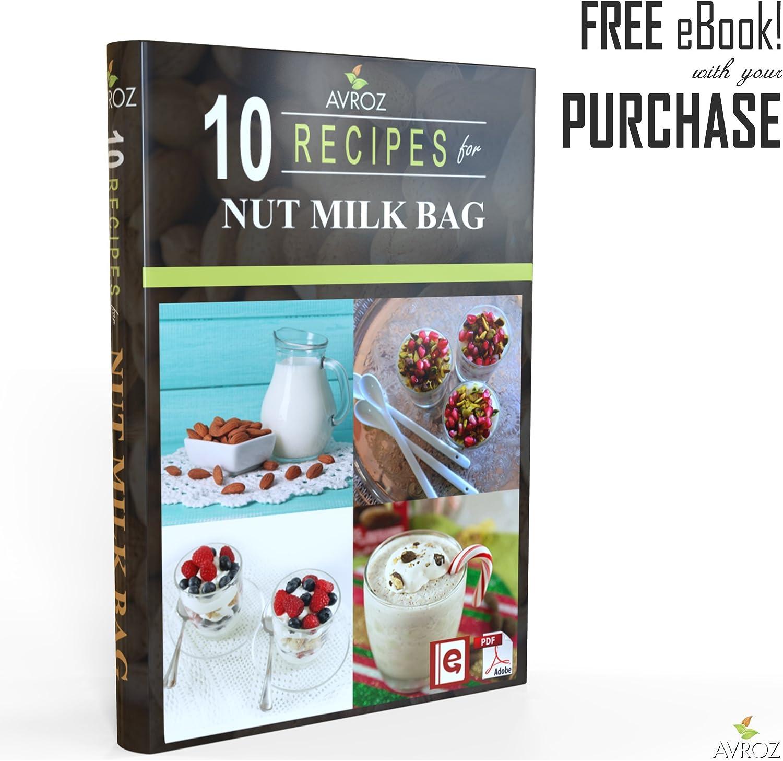 Mi mejor bolsa para leche de nuez – 2 unidades tamaño grande (30,4 ...