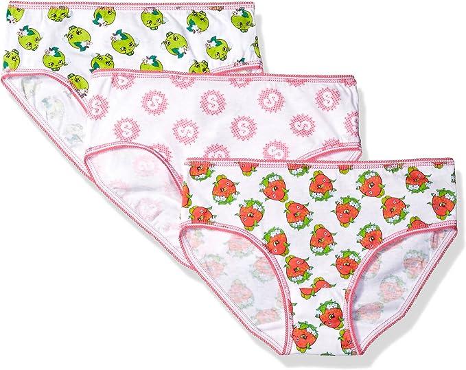 INTIMO Girls Shopkins 3pack Underwear