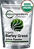 Micro Ingredients Certified Organic Barley Grass Juice Powder 250g