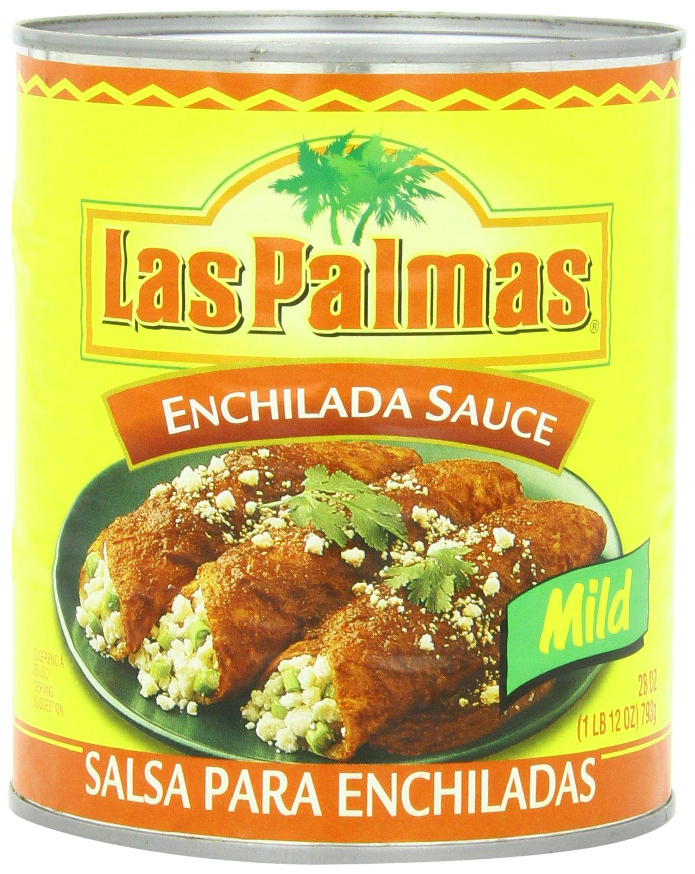 Las Palmas Enchilada Sauce, Mild, 28 Ounce (Pack of 12) by Las Palmas
