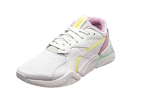 Puma Nova Mesh Wn's, Sneakers Basses Femme, Blanc, 39 EU