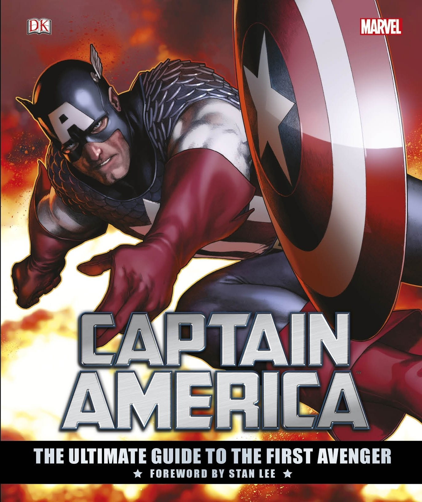 Captain America The Ultimate Guide To The First Avenger  Dk Marvel