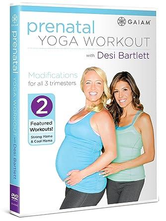 Amazon.com: Prenatal Yoga Workout with Desi Bartlett: Desi ...
