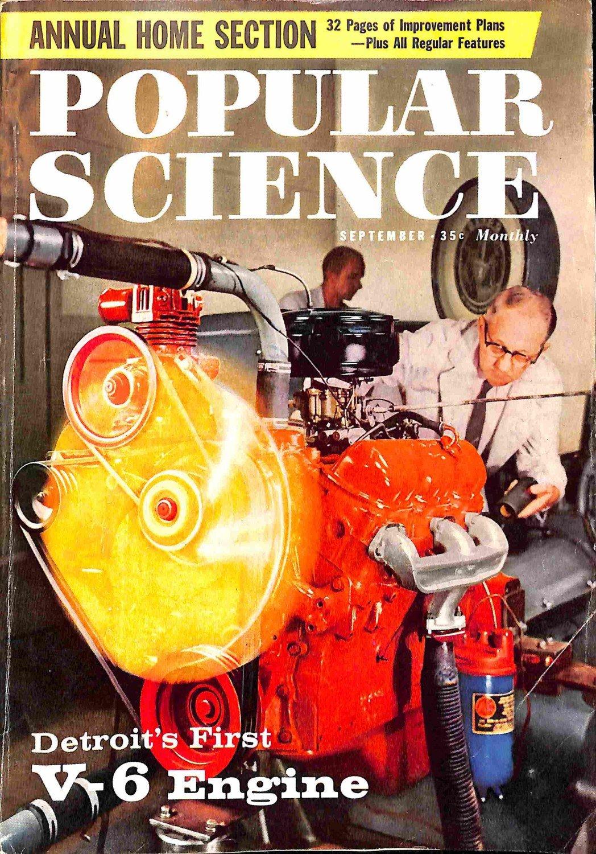 Popular Science Magazine, September 1959 (175, No. 3)
