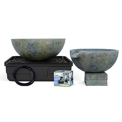 Aquascape 58087 Spillway Bowl and Basin Fountain Kit, Patina: Garden & Outdoor