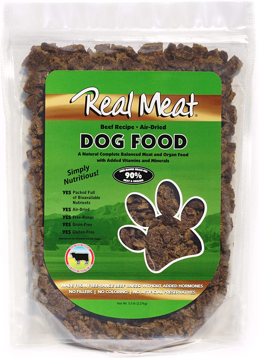 Real Meat Air-Dried Dog Food
