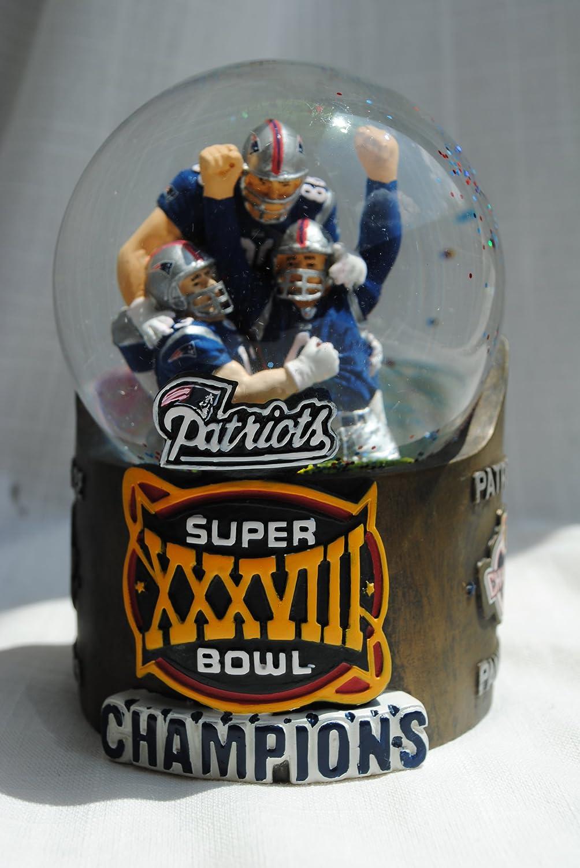 経典 Ne Patriots Super Super Bowl Ne 38 Championship Snowglobe 38 B003VZNFNU, 豊丘村:dce70ff0 --- irlandskayaliteratura.org