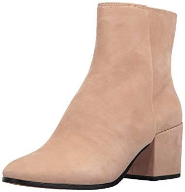 3fb2a568297 Dolce Vita Women s Maude Ankle Boot Blush Suede 6 Medium US