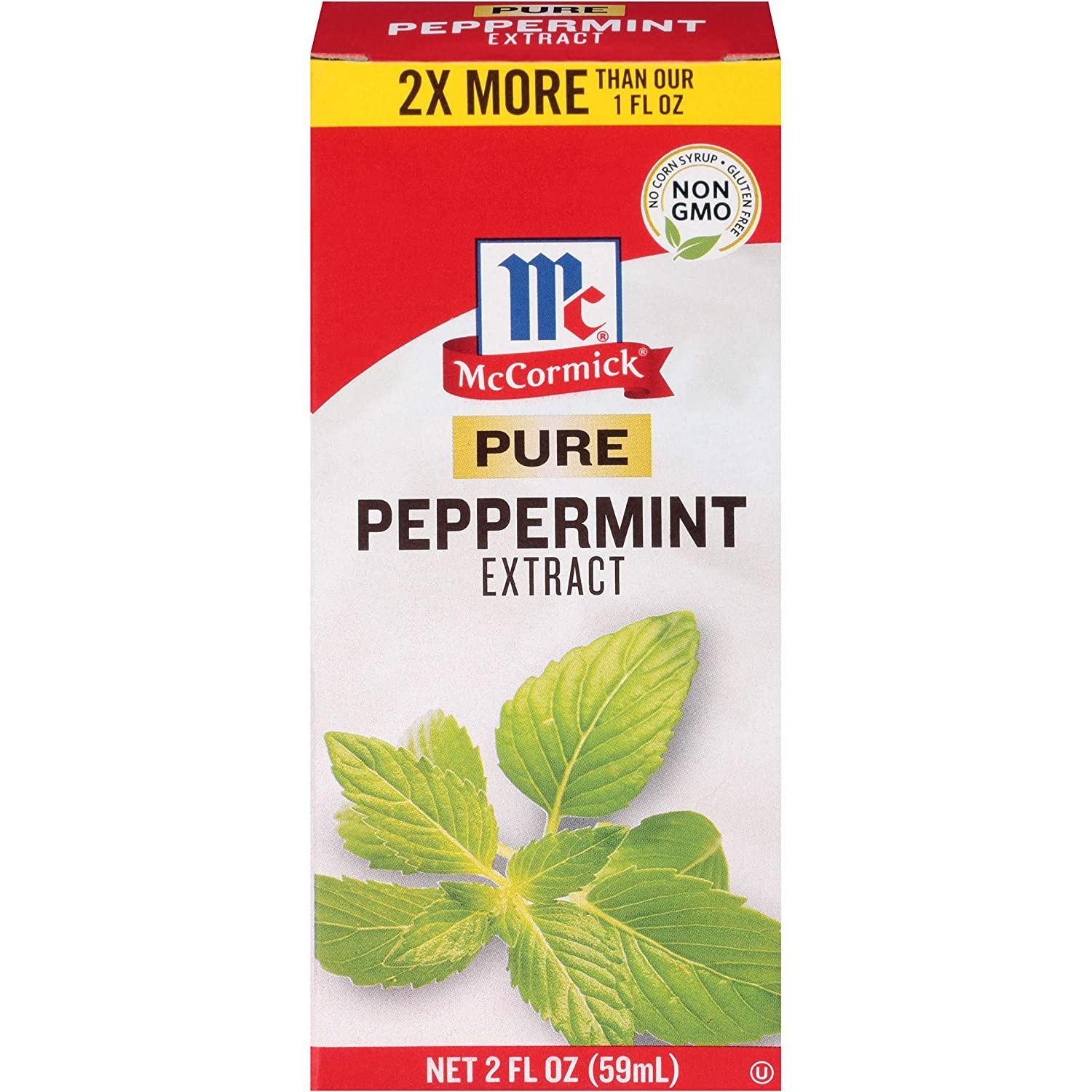 McCormick Pure Peppermint Extract, 2 fl oz
