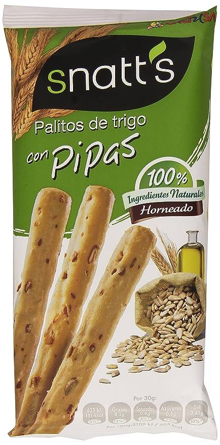 SnattS Palitos de Trigo Con Pipas ...