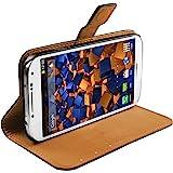 mumbi Tasche im Bookstyle für Samsung Galaxy S4 Tasche