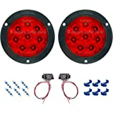 Kaper II L15-0072 Red 4 LED Stop//Turn//Tail Light
