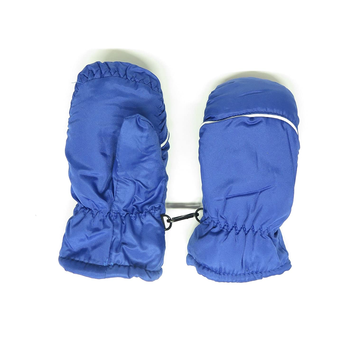 Magg Kids Toddlers Fleece Lined Winter Snow Glove Waterproof Solid 2-4T mittens