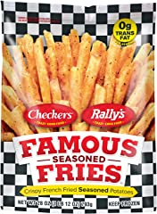 Checkers and Rally's Famous Seasoned Fries, 28 oz (Frozen)