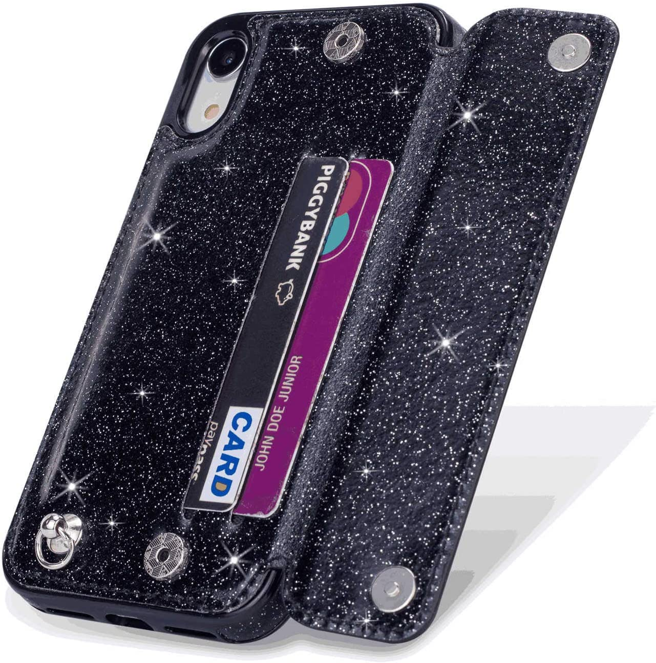 Cover for Leather Extra-Protective Business Kickstand Card Holders Mobile Phone case Flip Cover iPhone Xs Max Flip Case